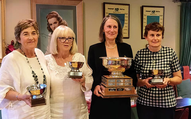 2019 Ladies Winners