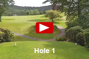 Glengarriff Golf Course - Hole 1 Video