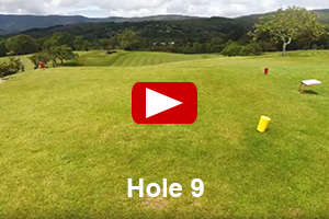 Glengarriff Golf Course - Hole 9 Video